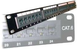 24 port Patchepanel 19'' Cat6 UTP