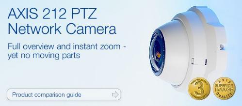 Axis 212 Nettverkskamera