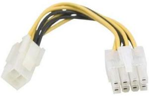 CC Power Adaptor For 4-pin ATX12V To EPS 8-pin