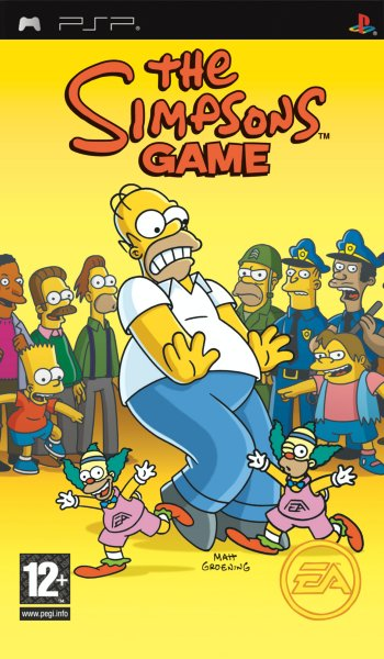 The Simpsons Game til PSP
