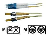 AESP Patchkabel Fiber LC/ST 1m Multimode, duplex, 62,5/125µm