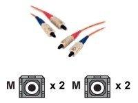 AESP Patchkabel Fiber SC/SC 2m Multimode, duplex, 50/125µm