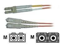 AESP Patchkabel Fiber LC/SC 10m Multimode, duplex, 62,5/125µm
