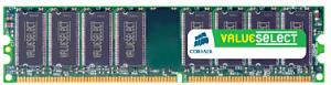 Corsair ValueSelect DDR 400MHz 1GB CL3 (1x1GB)