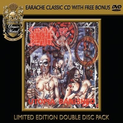 Napalm Death Utopia Banished (Limited Edition Double Disc Pack)