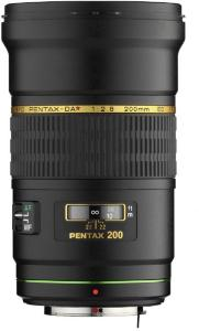 Pentax smc DA* 200mm f2.8 ED IF SDM
