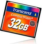 Transcend CompactFlash 133x 32 GB
