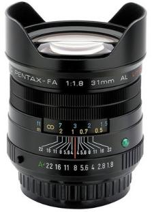 Pentax smc FA 31mm f/1.8 AL Limited Edition