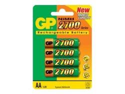 GP 4-pack AA 2700 mAh