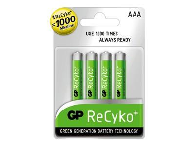 GP 4-pack AA 2100 mAh ReCyko