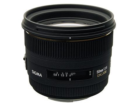 Sigma 50mm F1.4 EX DG HSM for Sony/Minolta