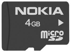 Nokia MU-41 microSDHC 4GB Class 4