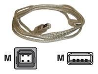 AESP USB 2.0 kabel A-B 3m
