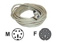 AESP PS/2 forlengerkabel M/F 2m