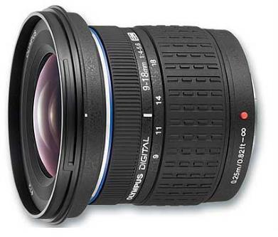 Olympus Zuiko Digital ED 9-18mm f/4 - 5.6