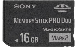Sony Memory Stick PRO Duo 16 GB