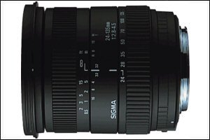 Sigma 24-135mm F/2.8-4.5 Aspherical IF for Canon