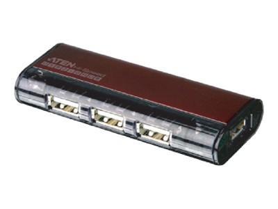 Aten 4port USB 2.0 Pocket Hub