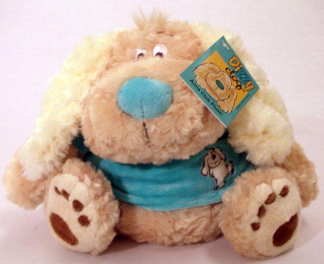 Anna Club Plush Dizzy Dog med genser