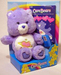 Play Along Toys Carebears dagdrømmebamse Lilla