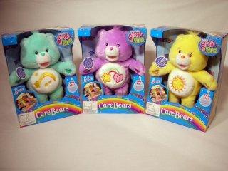 Play Along Toys Carebears Magic Circle Gul