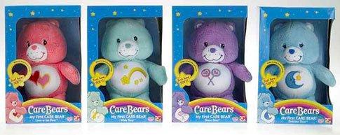 Play Along Toys Carebears My First Bashful Heart Bear.