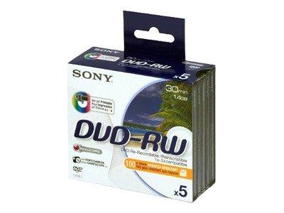 Sony Mini DVD-RW 5 stk. Printable