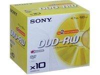 Sony 2x DVD-RW 10 stk.
