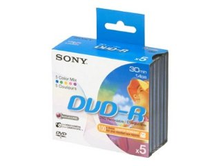 Sony 8CM DVD-R 5 stk.