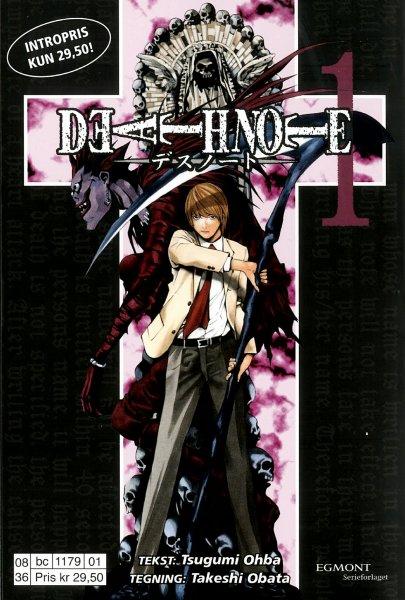 Egmont Serieforlaget AS Death Note 1