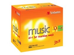 Verbatim CD-R Audio 80min 10 stk.