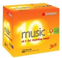 Verbatim CD-R Audio 80min 10 stk.
