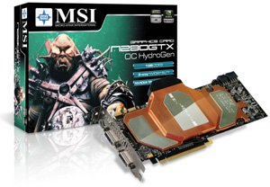 MSI GeForce GTX 280 OC HydroGen