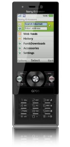 Sony Ericsson G705 med abonnement