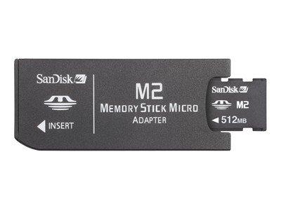 SanDisk Memory Stick Micro (M2) 512 MB