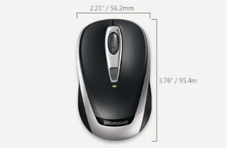 Microsoft Wireless Mobile Mouse 3000