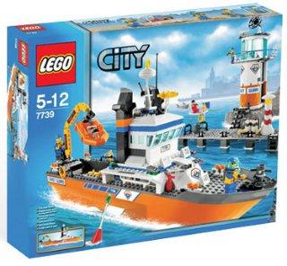 LEGO City Kystvaktens patruljebåt og utpost