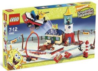 LEGO SvampeBob Mrs. Puff båt skole