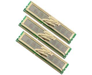 OCZ DDR3 PC3-10666 Gold Low-Voltage Triple Channel 3 GB