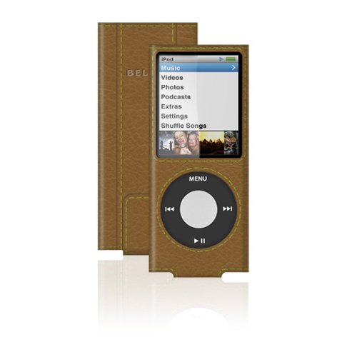 Belkin Eco-Conscious Leather Sleeve for iPod Nano 4G
