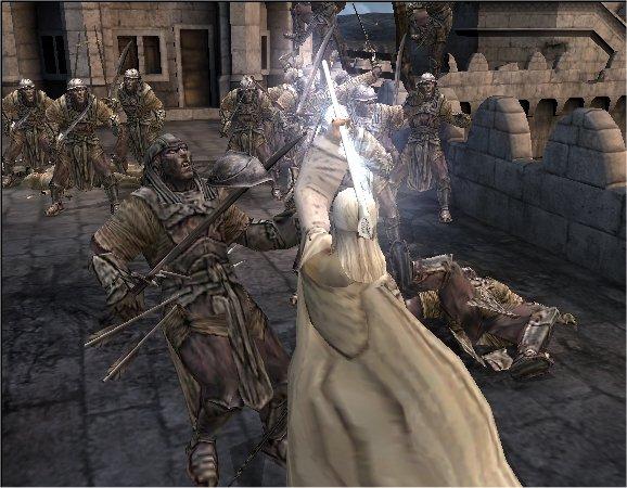 Ringenes Herre: Atter en Konge til GameCube