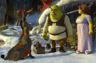 Du Grønne Glitrende Shrek