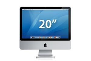 """Apple iMac 20"""" C2D 2.4 GHz 250 GB (1 GB)"""