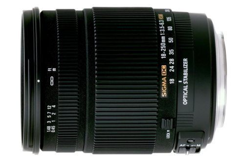 Sigma 18-250mm F3.5-6.3 DC OS HSM for Sigma
