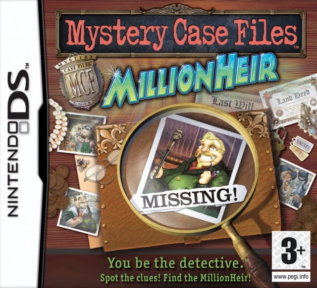 Mystery Case Files: MillionHeir til DS