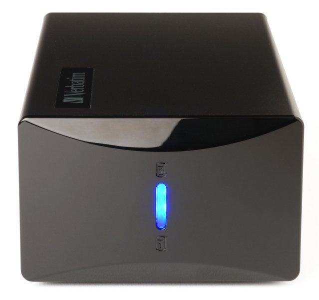 Verbatim 2-Disk RAID External Hard Drive 2 TB