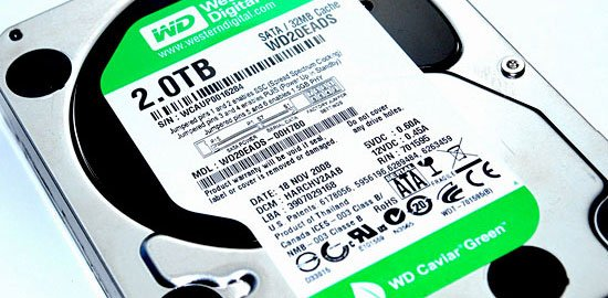 Western Digital Caviar Green 2TB 32MB Cache