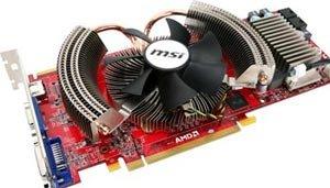 MSI Radeon HD 4870 512 MB 9 cm fan