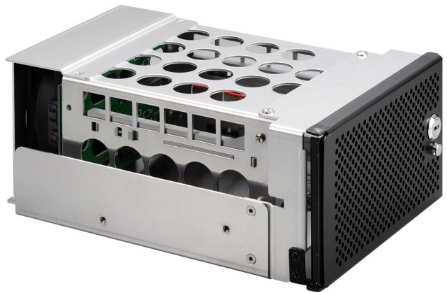 Lian Li EX-H22B drevramme m/ vifte og filter Hot Swap 2 stk. HDD