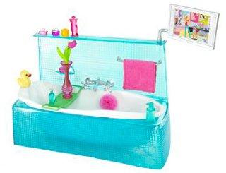 Barbie Møbler til huset. badekar